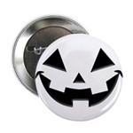 "Smiley Halloween Black 2.25"" Button"