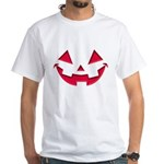 Smiley Halloween Red White T-Shirt