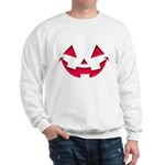 Smiley Halloween Red Sweatshirt