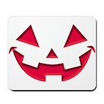Smiley Halloween Red Mousepad