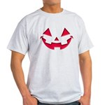 Smiley Halloween Red Light T-Shirt