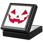 Smiley Halloween Red Keepsake Box
