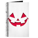 Smiley Halloween Red Journal