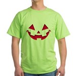 Smiley Halloween Red Green T-Shirt