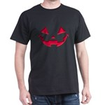 Smiley Halloween Red Dark T-Shirt