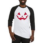 Smiley Halloween Red Baseball Jersey