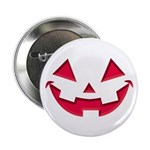 """Smiley Halloween Red 2.25"""" Button (100 pack)"""