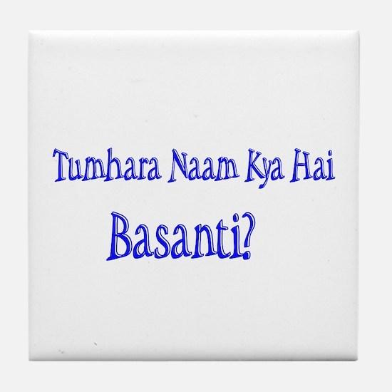Basanti Tile Coaster