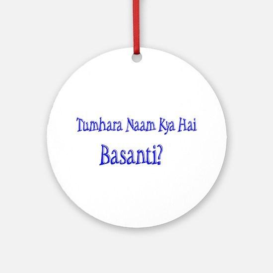 Basanti Ornament (Round)