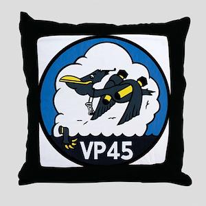 Patrol Squadron VP 45 US Navy Ships Throw Pillow