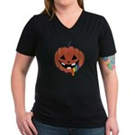Juicy Halloween Women's V-Neck Dark T-Shirt