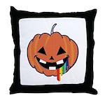 Juicy Halloween Throw Pillow