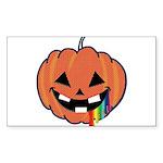 Juicy Halloween Rectangle Sticker