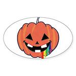 Juicy Halloween Oval Sticker