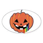 Juicy Halloween Oval Sticker (10 pk)