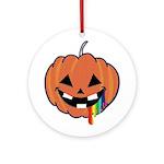 Juicy Halloween Ornament (Round)
