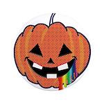 "Juicy Halloween 3.5"" Button"