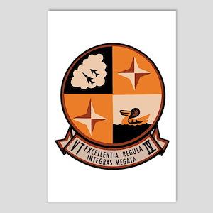 Training Squadron VT 4 US Navy Ships Postcards (Pa