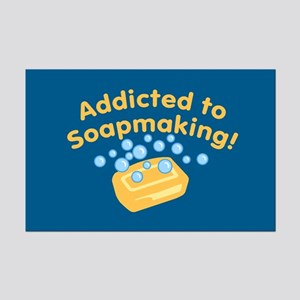 Addicted to Soap Craft Mini Poster Print