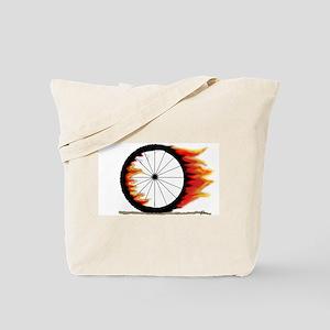 Turn N Burn Tote Bag
