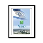 Restart - In Israel Framed Panel Print