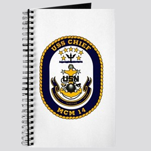 USS Chief MCM 14 US Navy Ship Journal