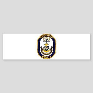 USS Chief MCM 14 US Navy Ship Bumper Sticker
