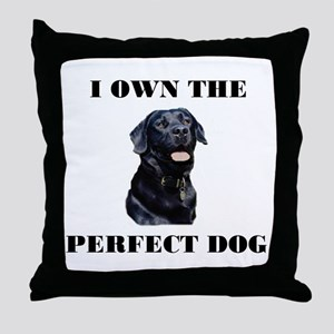 MY PERFECT LAB Throw Pillow