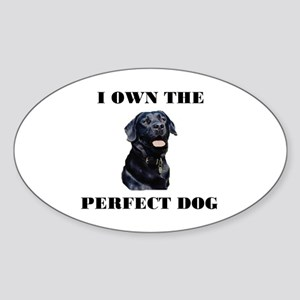 MY PERFECT LAB Oval Sticker