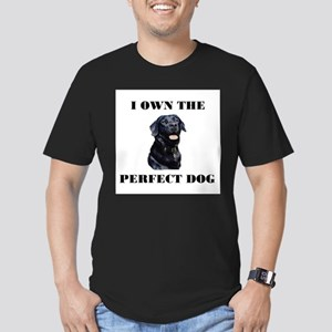 MY PERFECT LAB Men's Fitted T-Shirt (dark)