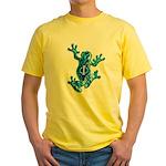 Phi Frog on the Fringe Yellow T-Shirt