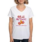 Girls Getaway 2020 Women's V-Neck T-Shirt