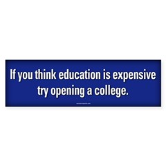 Try Opening a College sticker
