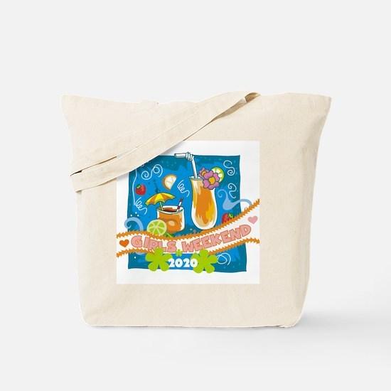 Tropical Girls Weekend 2017 Tote Bag