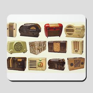 Old School Radio Mousepad