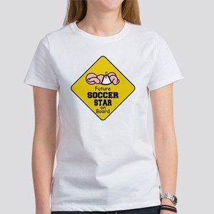 Soccer Star on Board Women's T-Shirt