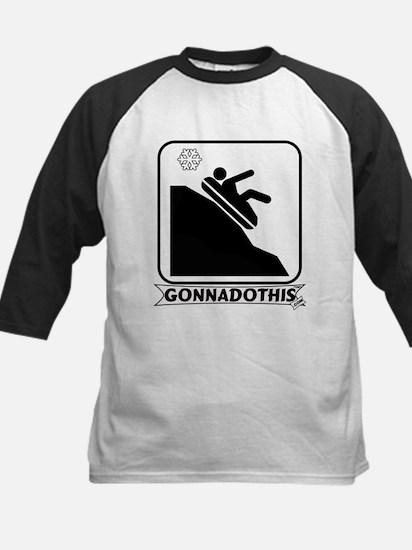 GONNADOTHIS.COM-Snow Tubing- Kids Baseball Jersey