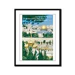 House of Prayer Framed Panel Print
