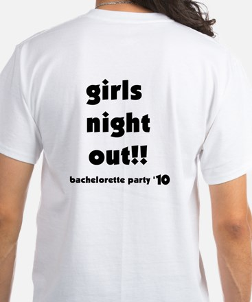 All About Her Bachelorette White T-Shirt