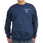Knights Templar Skull & Bones Navy Sweatshirt