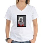 She Only Wanted Me For My Bra Women's V-Neck T-Shi