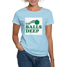 Go Balls Deep Women's Light T-Shirt