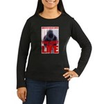 Your Money or Your Life Women's Long Sleeve Dark T