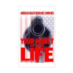 Your Money or Your Life Rectangle Sticker