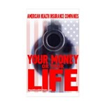 Your Money or Your Life Rectangle Sticker 10 pk)