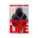 Your Money or Your Life Rectangle Magnet (10 pack)
