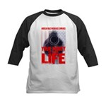 Your Money or Your Life Kids Baseball Jersey