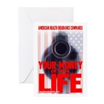 Your Money or Your Life Greeting Cards (Pk of 10)