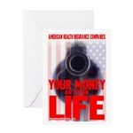 Your Money or Your Life Greeting Card