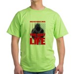 Your Money or Your Life Green T-Shirt